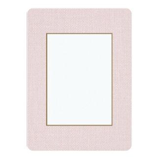 Charlotte Pink-Baby Princess Pink-Burlap Pillow Card