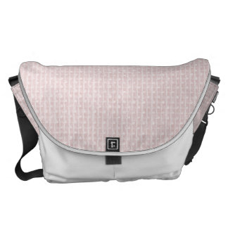 Charlotte Pink-Baby Princess Pink-Burlap Pillow Courier Bag