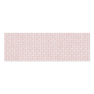 Charlotte Pink-Baby Princess Pink-Burlap Pillow Mini Business Card