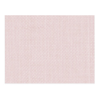 Charlotte Pink-Baby Princess Pink-Burlap Pillow Postcard