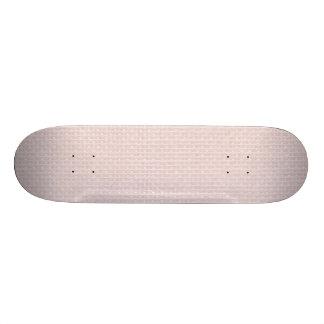 Charlotte Pink-Baby Princess Pink-Burlap Pillow Skateboard