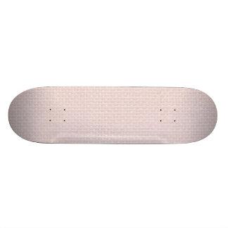 Charlotte Pink-Baby Princess Pink-Burlap Pillow Skateboard Deck