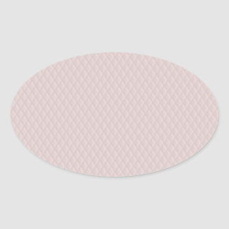 Charlotte Pink-Baby Princess Pink-Diamond Quilted Oval Sticker