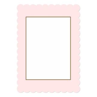 Charlotte Pink-Baby Princess Pink in Summer Gazebo Card