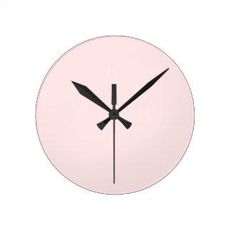 Charlotte Pink-Baby Princess Pink in Summer Gazebo Round Clock