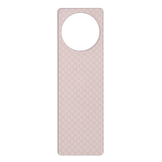 Charlotte Pink-Baby Princess Pink-Square Quilted Door Hanger
