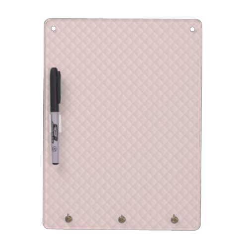 Charlotte Pink-Baby Princess Pink-Square Quilted Dry Erase Board