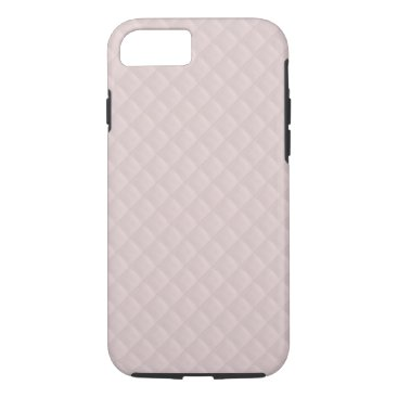 Beach Themed Charlotte Pink-Baby Princess Pink-Square Quilted iPhone 7 Case