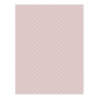 Charlotte Pink-Baby Princess Pink-Square Quilted Postcard