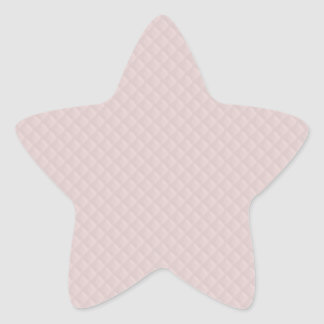 Charlotte Pink-Baby Princess Pink-Square Quilted Star Sticker