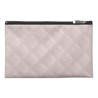 Charlotte Pink-Baby Princess Pink-Square Quilted Travel Accessories Bags