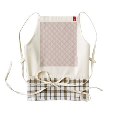 Beach Themed Charlotte Pink-Baby Princess Pink-Square Quilted Zazzle HEART Apron