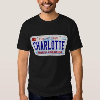 Charlotte - placa del NC Remeras