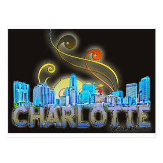 charlotte post card