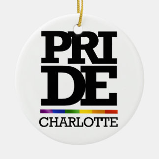 CHARLOTTE PRIDE - png Christmas Tree Ornaments
