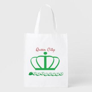Charlotte Re-useable bag Market Tote