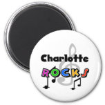Charlotte Rocks Refrigerator Magnets