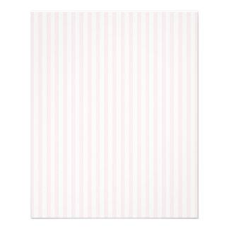 """Charlotte rosada y el blanco raya rosas bebés folleto 4.5"""" x 5.6"""""""