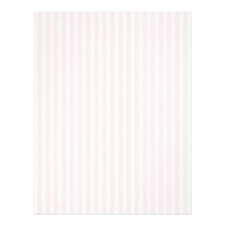 """Charlotte rosada y el blanco raya rosas bebés folleto 8.5"""" x 11"""""""