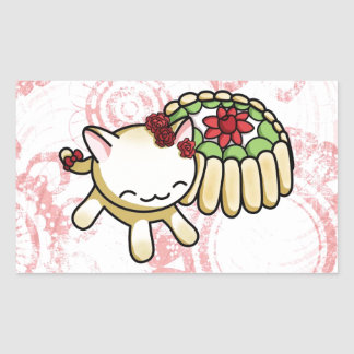 Charlotte Russe Kitty Rectangular Sticker