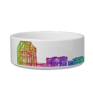 Charlotte skyline bowl
