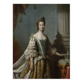 Charlotte Sophia de Mecklenburg-Strelitz, 1762 Tarjetas Postales