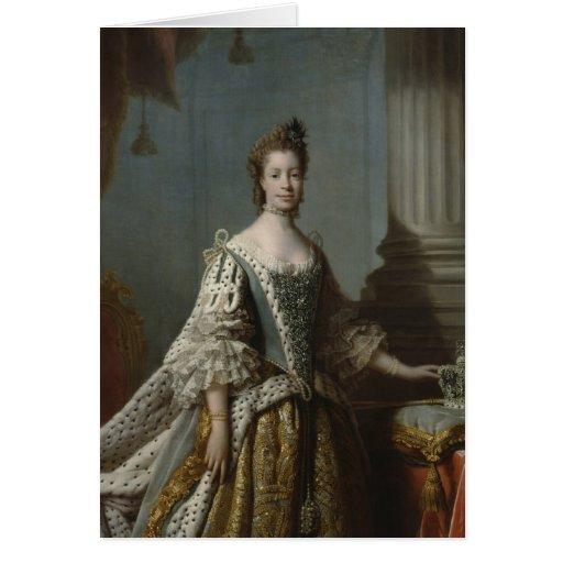 Charlotte Sophia of Mecklenburg-Strelitz, 1762 Card