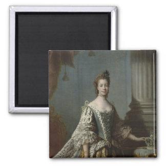 Charlotte Sophia of Mecklenburg-Strelitz, 1762 Magnet