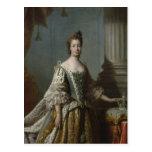 Charlotte Sophia of Mecklenburg-Strelitz, 1762 Postcard