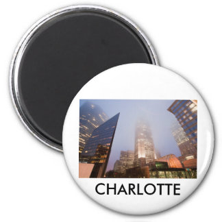 CHARLOTTE UPTOWN REFRIGERATOR MAGNET