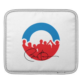 CHARLOTTE WITH BARACK OBAMA -.png Sleeves For iPads