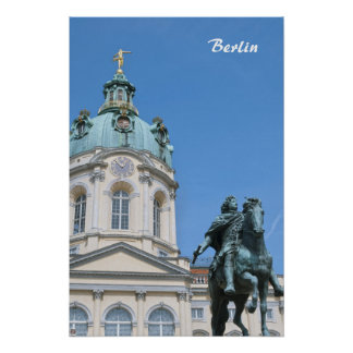 Charlottenburg Palace in Berlin Poster