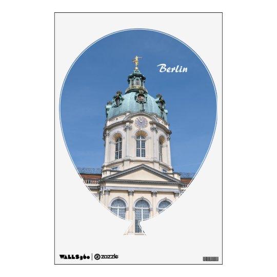 Charlottenburg Palace in Berlin Wall Sticker