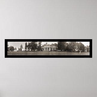 Charlottesville VA Photo 1911 Posters