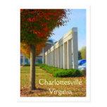 Charlottesville Virginia Tarjeta Postal