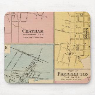 Charlottetown, Fredericton, Moncton Alfombrilla De Raton