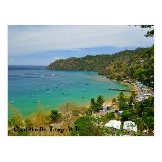 Charlotteville, Trinidad y Tobago W.I. Postales