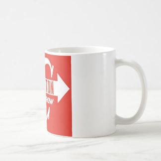 Charlton Arrow Classic logo Classic White Coffee Mug