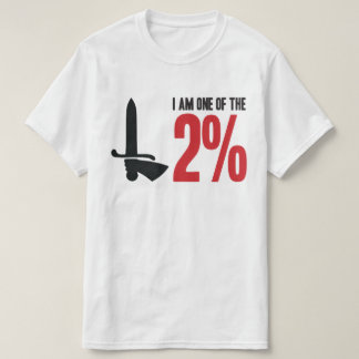 Charlton Athletic 2% Red and Black T-Shirt