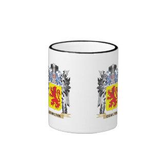 Charlton Coat of Arms - Family Crest Ringer Coffee Mug