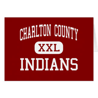 Charlton County - Indians - High - Folkston Cards