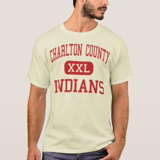 Charlton County - Indians - High - Folkston T-Shirt