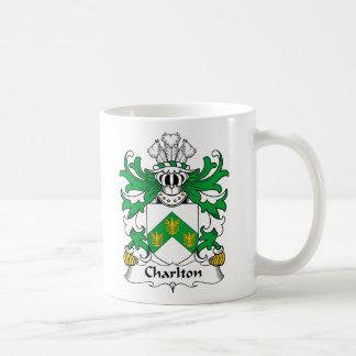 Charlton Family Crest Classic White Coffee Mug