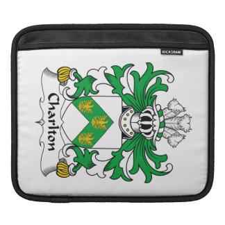Charlton Family Crest iPad Sleeve