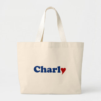 Charly with Heart Bag