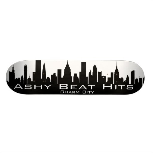 CHARM CITY BEAT HITS SKATEBOARD
