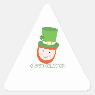 Charm Collector Triangle Sticker