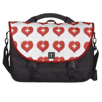 Charm de coeur Suisse Bag For Laptop