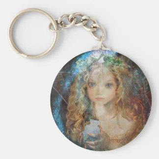 Charm - Fairy Angel with Fairy Dust Blessings Keychain