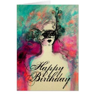 CHARM / Happy Birthday Greeting Card